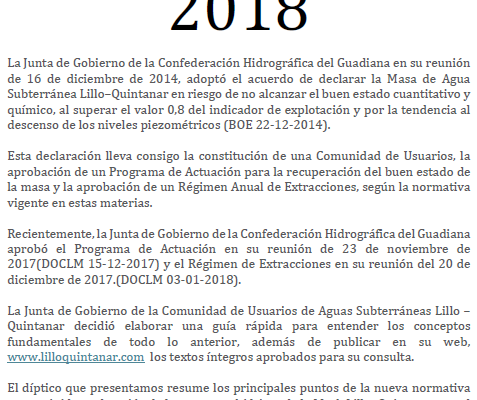Novedades 2018