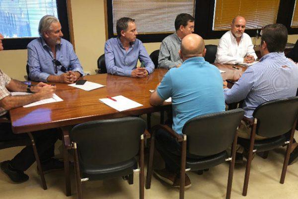 Reunión entre el Presidente de la CHG y los representantes de las Comunidades de Usuarios del Alto Guadiana